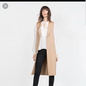 Zara Vest NWOT
